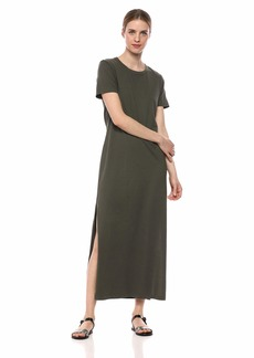 AG Adriano Goldschmied Women's Alana Dress ash Green Extra Large