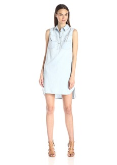 AG Adriano Goldschmied Women's Aurelia Chambray Dress
