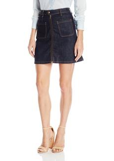 AG Adriano Goldschmied Women's Becca a-Line Denim Skirt
