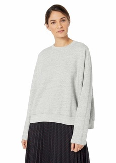 AG Adriano Goldschmied Women's Berdine Crewneck Sweatshirt  Extra Small