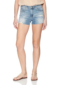 AG Adriano Goldschmied Women's Brynn Cut-Off Denim Short