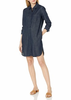 AG Adriano Goldschmied Women's Caden Classic Button-Down Shirt Dress