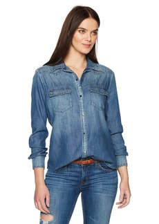 AG Adriano Goldschmied Women's Deanna Shirt  XS