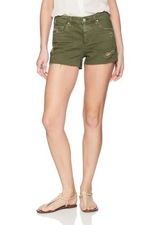 AG Adriano Goldschmied Women's Denim Bryn EX-Boyfriend Cut-Off Short