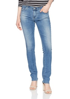 AG Adriano Goldschmied Women's Denim Harper Essential Straight Leg sea Sprite