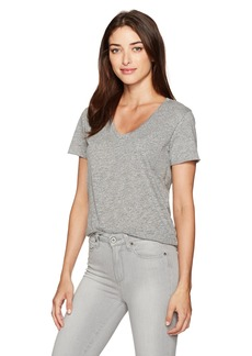 AG Adriano Goldschmied Women's Emerson Speckled Heather Pocket Tee