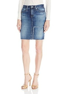 AG Adriano Goldschmied Women's Erin Reconstructed Pencil Skirt 4