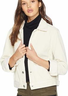 AG Adriano Goldschmied Women's Evonne Jacket Ivory dust