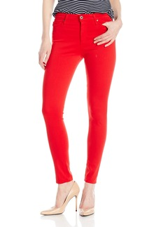 AG Adriano Goldschmied Women's Farrah High Rise Ankle Jean in Red