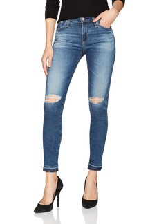 AG Adriano Goldschmied Women's Farrah Skinny Ankle Let Down Hem Jean