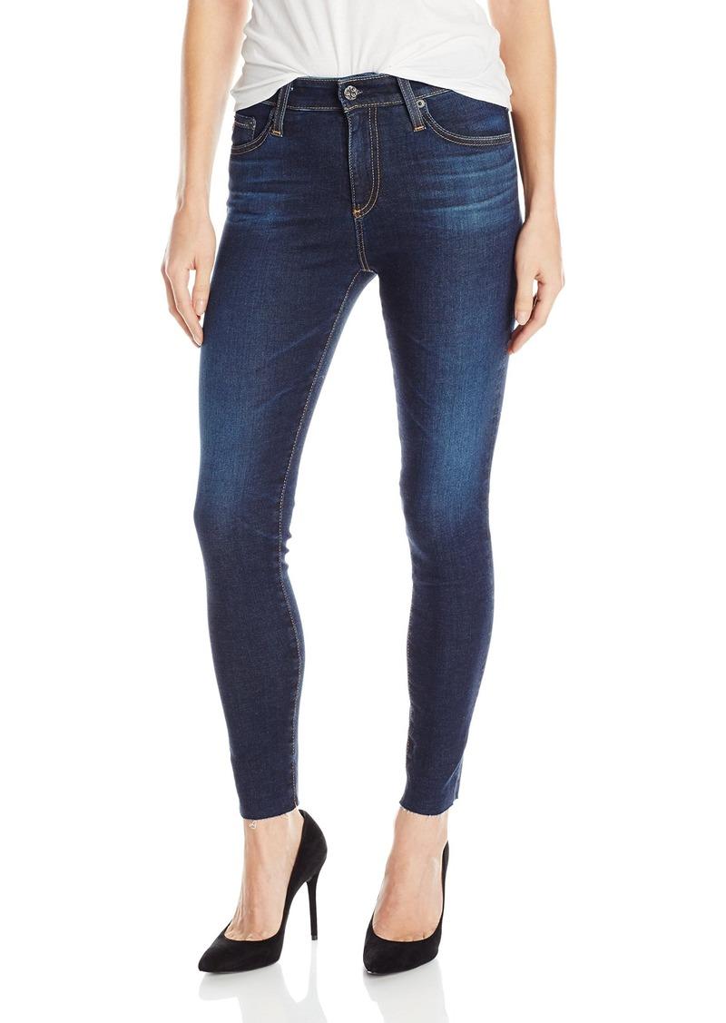 AG Adriano Goldschmied Women's Farrah Skinny Crop Jean 2 Years-Beginnings