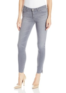 AG Adriano Goldschmied Women's Grey Legging Ankle Jean