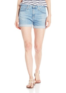 AG Adriano Goldschmied Women's Hailey Ex Boyfriend Roll up Jean Short