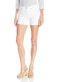 AG Adriano Goldschmied Women's Hailey Ex-Boyfriend Roll Up Jean Short in
