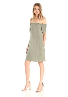 AG Adriano Goldschmied Women's Harley Off The Shoulder Dress