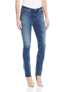 AG Adriano Goldschmied Women's Harper Mid Rise Straight Leg Jean