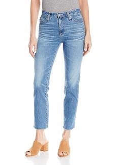AG Adriano Goldschmied Women's Isabelle Vintage Straight Leg Crop Jean