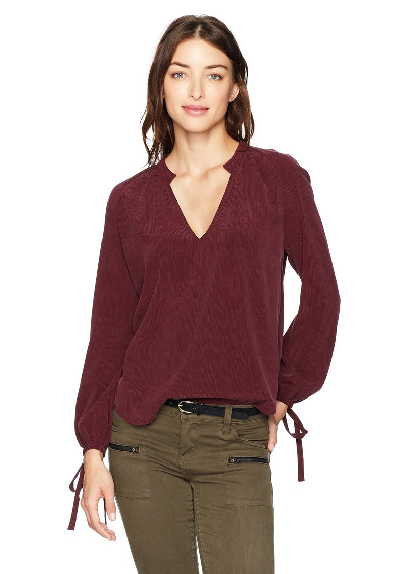 AG Adriano Goldschmied Women's Karina Top Washed deep Currant L
