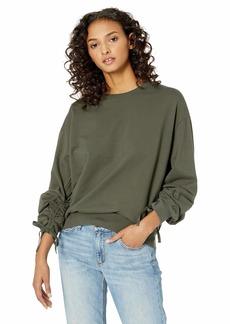 AG Adriano Goldschmied Women's Karis Sweatshirt ash Green Extra Large