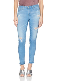AG Adriano Goldschmied Women's Legging Ankle Denim Letdown Hem