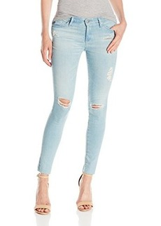 AG Adriano Goldschmied Women's Legging Ankle with Raw Hem