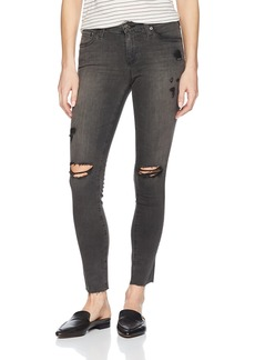 AG Adriano Goldschmied Women's Legging Super Skinny Ankle Destructed Jean Years Stone ash