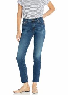 AG Adriano Goldschmied Women's Mari High-Rise Slim Fit Straight Leg Jean 10Yrs Defined