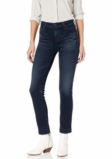 AG Adriano Goldschmied Women's Mari High-Rise Slim Fit Straight Leg Jean 3Yrs Inquire