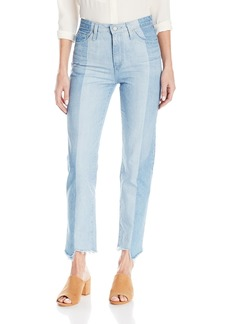 Ag Adriano Goldschmied Women's Phoebe Vintage High Waisted Patchwork Jean 19 YEARS SPLINTER