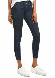 AG Adriano Goldschmied Women's Prima Cigarette Fit Pintucked Ankle Jean