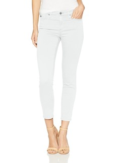 AG Adriano Goldschmied Women's Prime Mid-Rise Cigarette Leg Skinny Fit Crop Pant