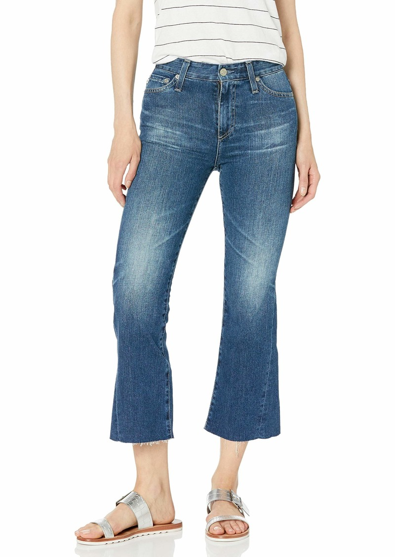 AG Adriano Goldschmied Women's quinne Crop Flare