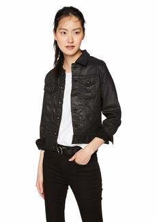 AG Adriano Goldschmied Women's Robyn Coated Denim Jacket