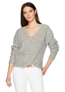 AG Adriano Goldschmied Women's Skye V Neck Sweater  XS