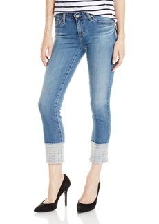 AG Adriano Goldschmied Women's Stilt Cigarette Crop Jean