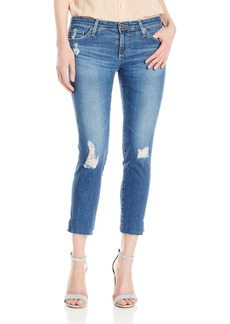 AG Adriano Goldschmied Women's Stilt Crop Cigarette Leg Jean