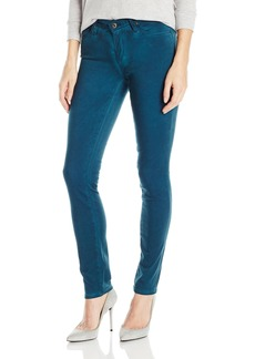 AG Adriano Goldschmied Women's Stilt Sateen Cigarette Leg Jean Sea-Soaked Peacock