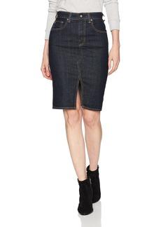 AG Adriano Goldschmied Women's The Emery Denim Skirt