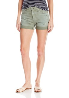 AG Adriano Goldschmied Women's the Hailey Ex-Boyfriend Roll up Jean Short