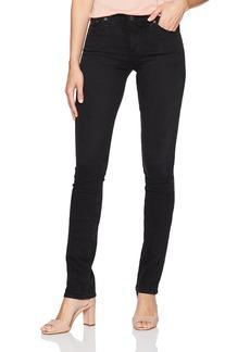 AG Adriano Goldschmied Women's The Harper Straight Jean 3 Years-Obsidian