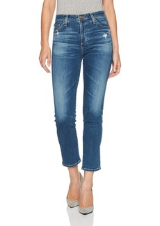 AG Adriano Goldschmied Women's the Isabelle High Rise Crop Jean