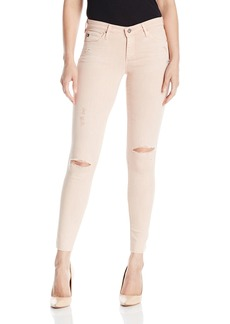 AG Adriano Goldschmied Women's the Legging Ankle Worn Ground