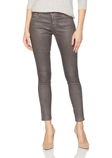 AG Adriano Goldschmied Women's The Legging Ankle Leatherette Leatherette Lt-Field Stone