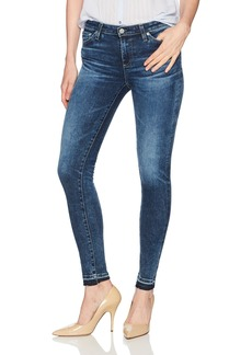 AG Adriano Goldschmied Women's The Legging Ankle Skinny Let Down Hem Jean