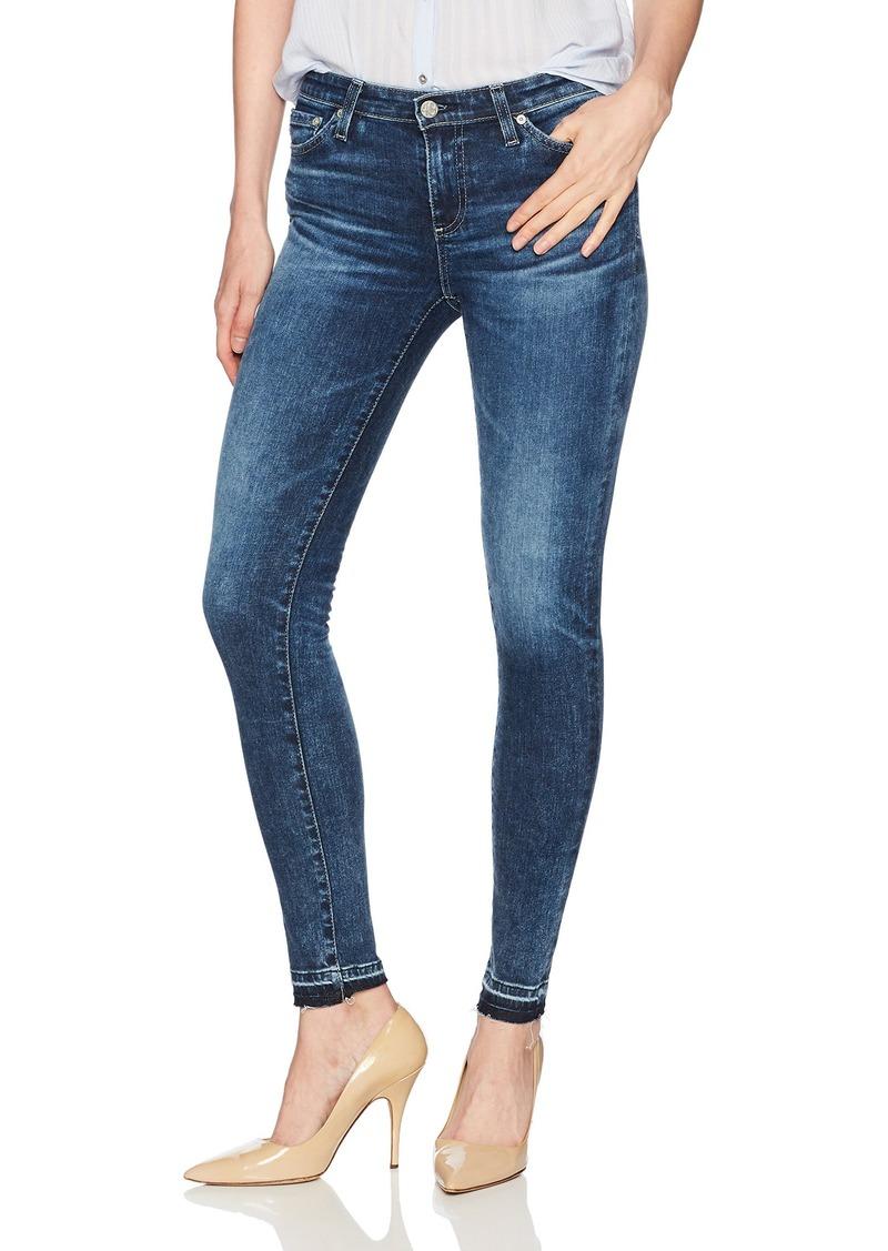 AG Adriano Goldschmied Women's The Legging Ankle Skinny Let Down Hem Jean