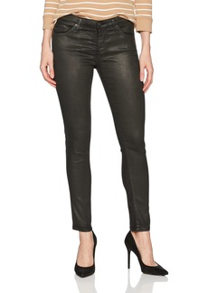 AG Adriano Goldschmied Women's The Legging Ankle Skinny Vintage Leatherette Lt-Climbing Ivy