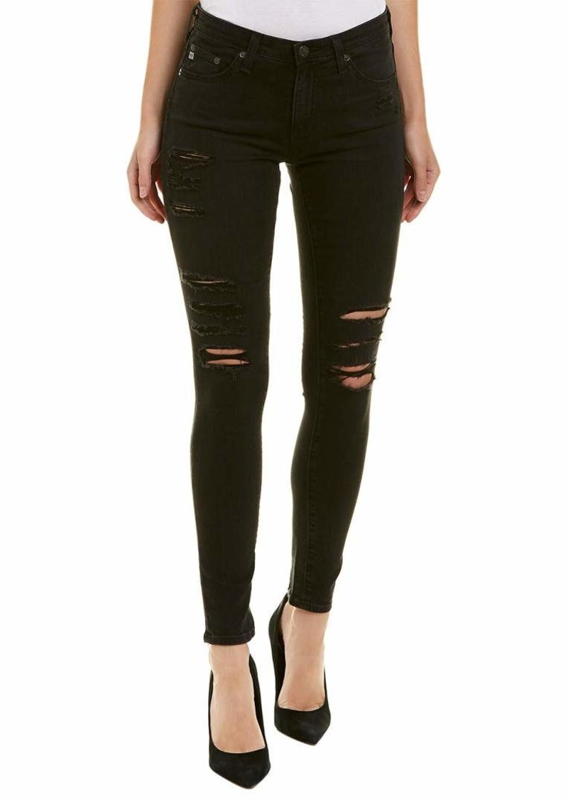 AG Adriano Goldschmied Women's The Legging Ankle Super Destructed Skinny Jean