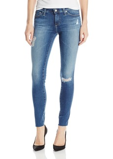 Ag Adriano Goldschmied Women's The Legging Ankle Super Skinny Jean 18 Years-Destroyed