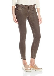 AG Adriano Goldschmied Women's The Legging Ankle Super Skinny Leatherette