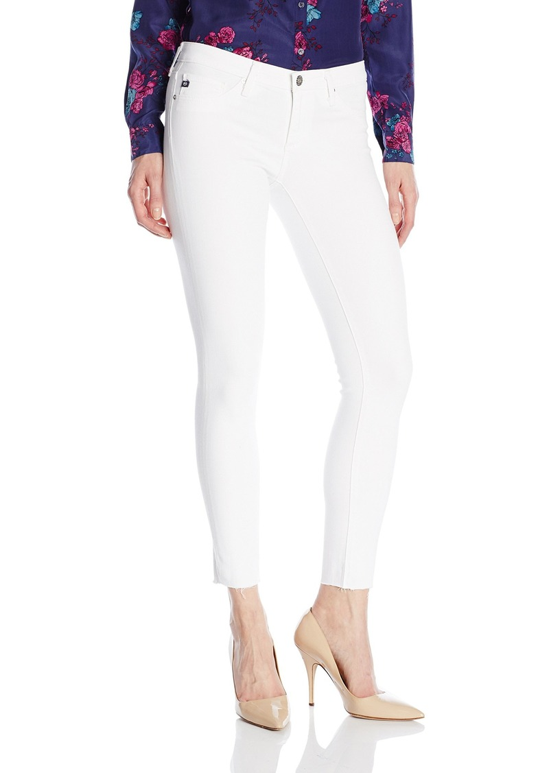 AG Adriano Goldschmied Women's The Legging Ankle with Raw Hem